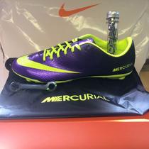 Chuteira Nike Mercurial Vapor Sg Primeira Linha Trava Mista