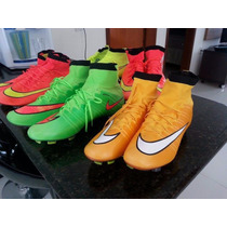 Chuteira Profissional Nike Mercurial Superfly Fg Campo
