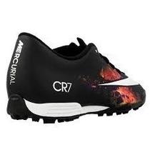 Chuteira Nike Mercurial Vortex Ii Cr7 Tf Cristiano Ronaldo