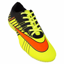 Chuteira Futsal Nike Mercurial Superfly 2 - Amarelo E Laran