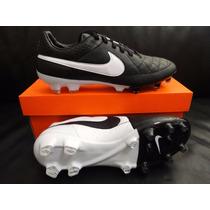 Chuteira Nike Tiempo Legacy Couro Fg Ronaldinho