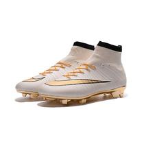 Chuteira Nike Mercurial Cr7 Fg - Botinha / Cano Alto