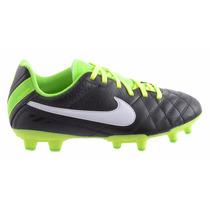 Chuteira Nike Tiempo Natural Preto/verde (messi Neymar F50 )
