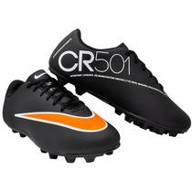 Chuteira Nike Cr 501 Campo Infantil Solado Costurado
