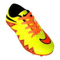 Chuteira Campo Infantil Nike Hypervenom 2 Muito Confortável