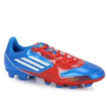 Chuteira Adidas F5 Trx Fg Azul E Vermelhacravos