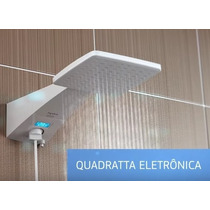 Ducha Eletrica Hydra Square Branco -quadratta 220v Branca