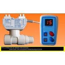 Timer De Chuveiro Controle De Temperatura Do Banho Eletrodom