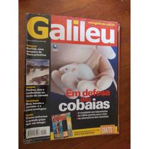 Galileu - Em Defesa Das Cobaias/jalapão/casa Ecológica/gripe