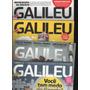 Lote Com 4 Revistas Galileu Em Ótimo Estado D5