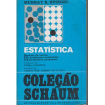 Estatística - Coleção Schaum - Murray Spiegel