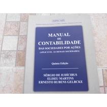 Livro Manual De Contabilidade Das Sociedades Por Ações 5º Ed