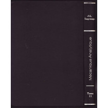 Lagrange - Mécanique Analytique Mecânica Analítica 1889 Raro