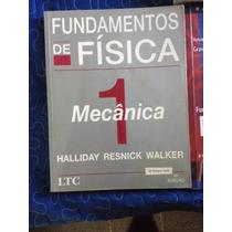 Livro Fundamentos De Física Vol. 1 Mecânica Halliday Resnick