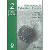 Fundamentos Da Matemática Elementar Volume 2-9 ª Edição Gels
