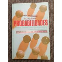 Probabilidades - Pedro Luiz De Oliveira Costa Neto, Melvin C