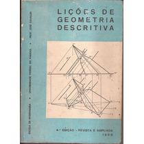 Livro Lições De Geometria Descritiva 4ª Edição 1968