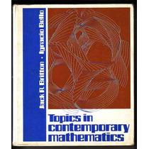 Topics In Contemporary Mathematics: Britton Bello Exercicios