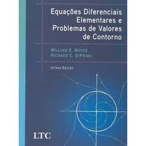 Livro Equações Diferenciais + Solicionário - Boyce 8º