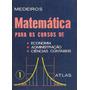Matemática Para Economia, Administração E Ciências Contábeis