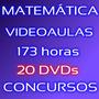 Curso Matemática Para Concursos E Enem 20 Dvds Videoaulas