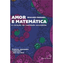 Amor E Matematica Livro Frenkel, Edward