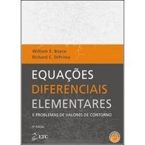 Livro Equações Diferenciais - Boyce & Diprima - 9ª Ed