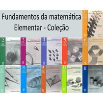 Coleção Fundamentos Da Matemática Elementar 11 Volumes