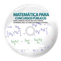 Matemática Para Concursos, Enem,correios,pm,petrobras,etc...