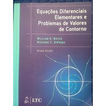 Livro Equações Diferenciais Elementares E Problemas De (...)