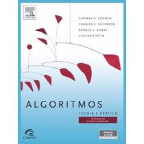Livro Algoritmos - Teoria E Prática - 3ª Edição
