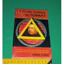 O Último Teorema De Fermat - Simon Singh - Livro Novo