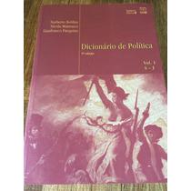 Dicionário De Política - Obra Completa - Volumes 1 E 2