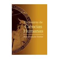 Livro - Dicionario De Ciencias Humanas - Novo - Frete Grátis
