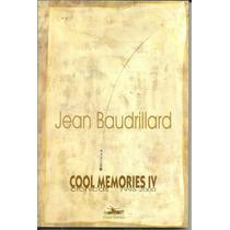Cool Memories Iv Crônicas 1996-2000, De Jean Baudrillard