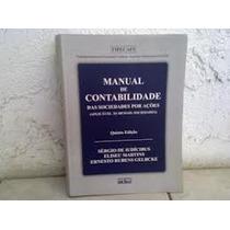 Manual De Contabilidade Das Sociedades Por Acoes - Sergio De