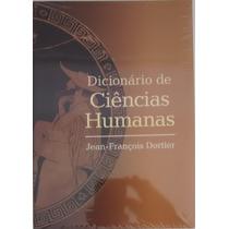 Dicionário De Ciências Humanas - Jean-francois Dortier