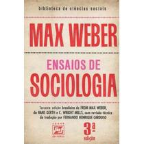 Ensaios De Sociologia / 3ª Edicao Max Weber Frete Gratis