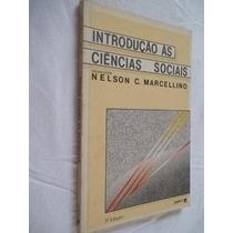 Livro - Introdução As Ciências Sociais - Sociologia