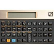 Calculadora Financeira 12c Gold Hp - Garantia 1 Anocalculado