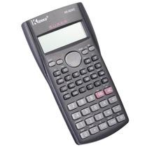 Calculadora Científica Kenko Kk-82ms 240 Funções E Capa