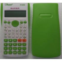 Calculadora Cientifica Kenko Kk-82ms 2 Linhas - Verde Clara