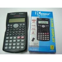 Calculadora Kenko Cientifica Kk-82ms 2 Lin 240 Fun Roberto3d
