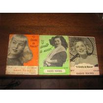 O Direito De Nascer Rádio Teatro Lote Com 10 Revistas 1952