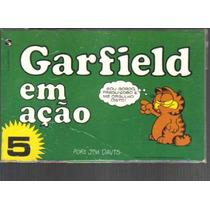 Garfield Em Açao Numero 5 - Editora Salamandra