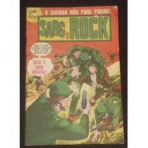 O Herói Nº 35 (2ª Série) - Sarg Rock - Ebal - 1980