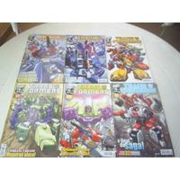 Transformers - Completo Em 6 Edições - Ed Panini - 2003