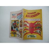 Gibi Homem Aranha Nº:26 Editora Bloch Com Poster