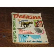 Fantasma Arquivos Secretos Nº 1 Rge 1981 C/100 Págs Original