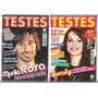 Revista Testes De Amor - Sandy & Outros - Novas - Lacradas